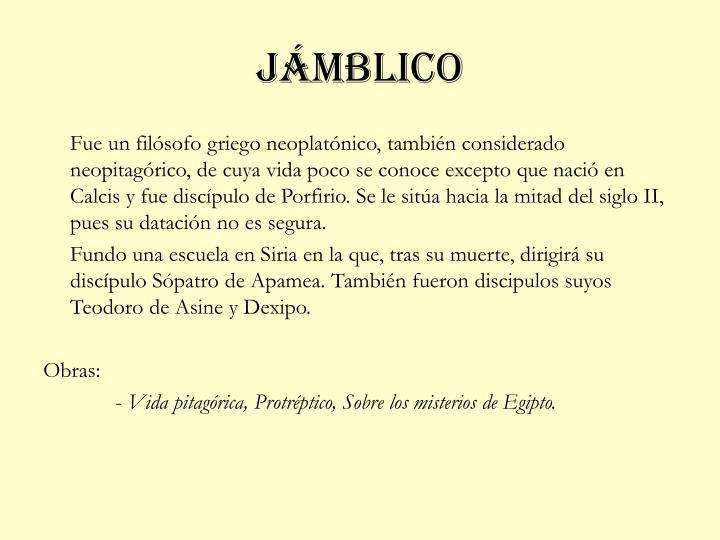 jámblico