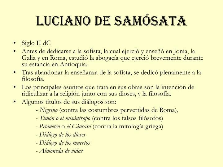 Luciano de samósata