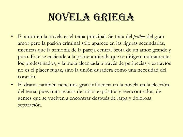 Novela griega1