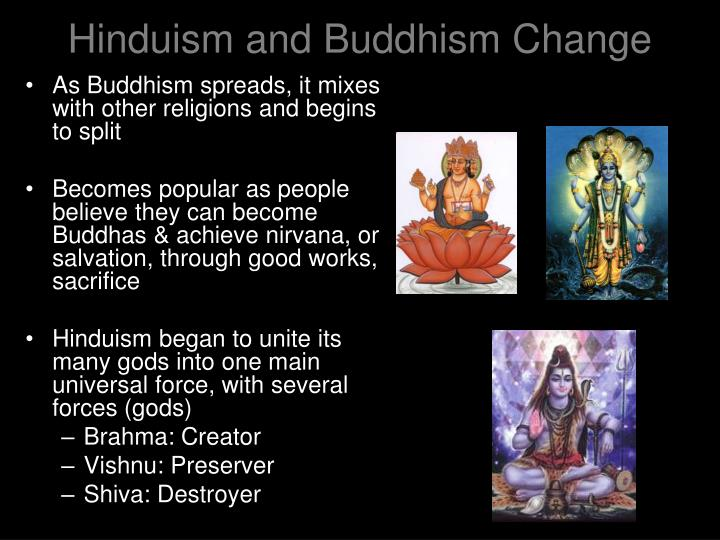 hindu and buddhism buildings and beliefs Buddhism vs hinduism with the exception of a few, people are born to religion we grow up with the religion that our parents are practicing and are guided by.