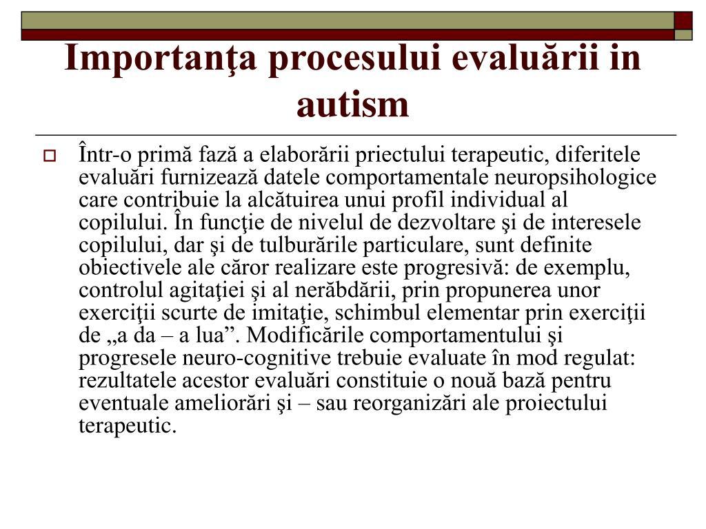 autismul datând relațiile