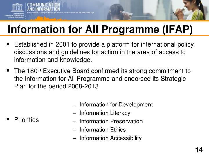 Information for All Programme (IFAP)
