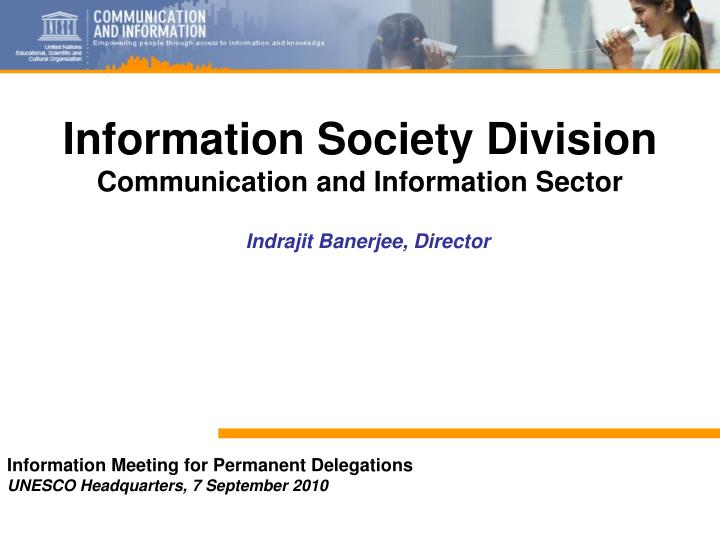 Information Society Division
