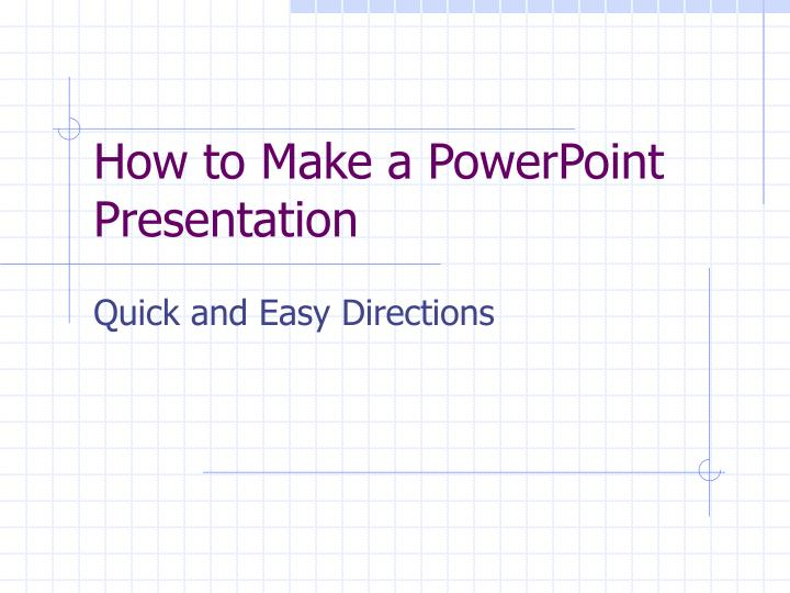 how to make a powerpoint presentation n.