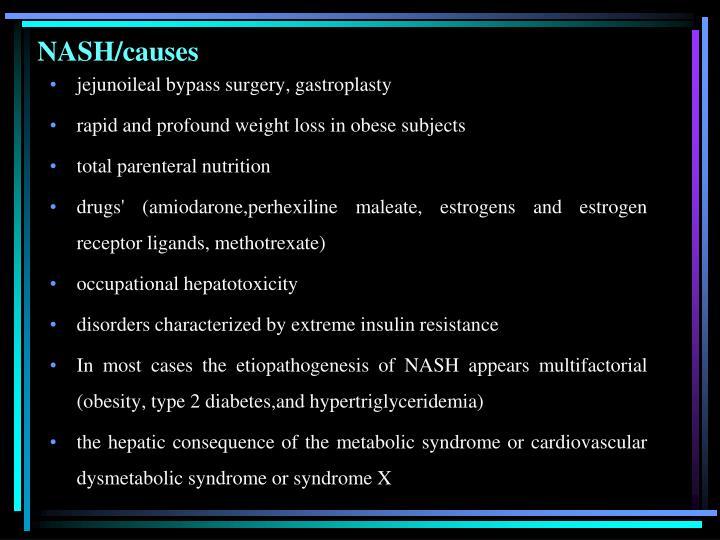 NASH/causes