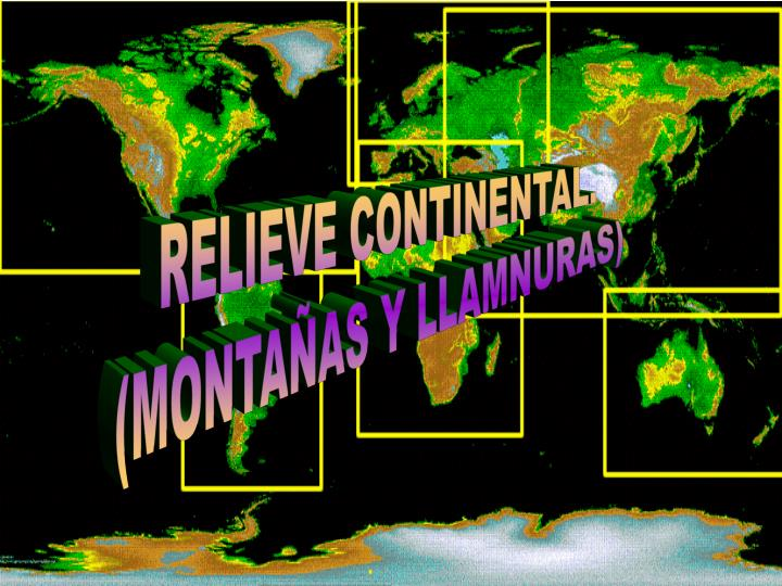 RELIEVE CONTINENTAL.