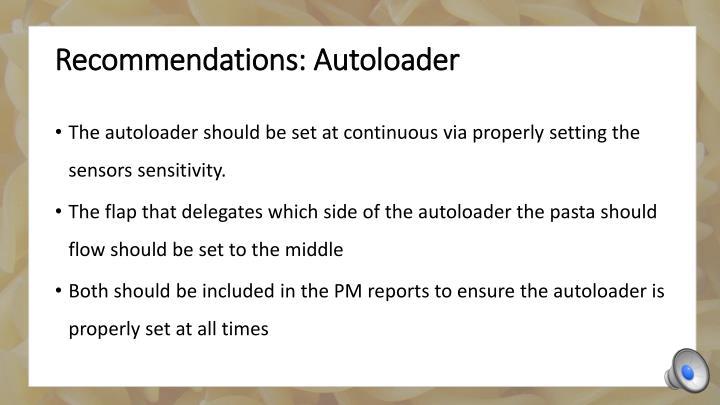 Recommendations: Autoloader