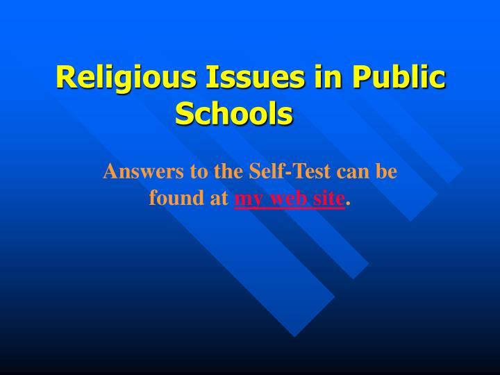 religious issues