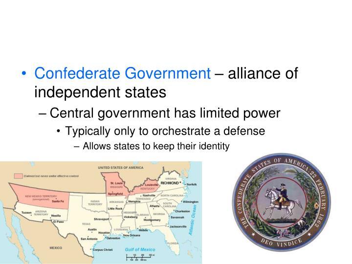 Confederate Government