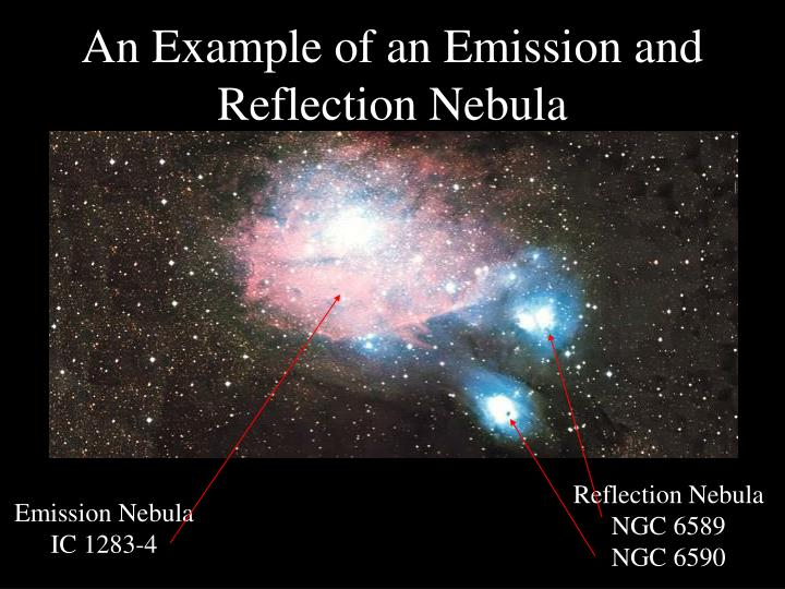 An Example of an Emission and Reflection Nebula