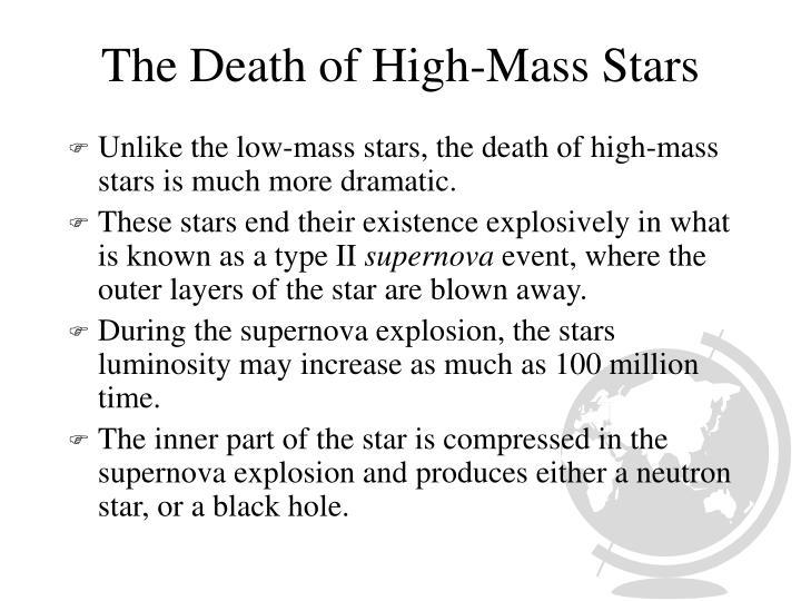 The Death of High-Mass Stars