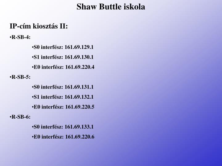 Shaw Buttle iskola