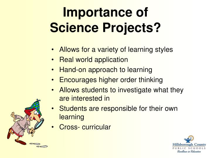 Importance of science projects