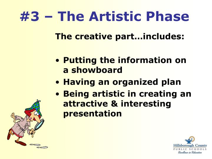 #3 – The Artistic Phase