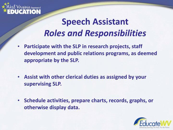 Speech Assistant