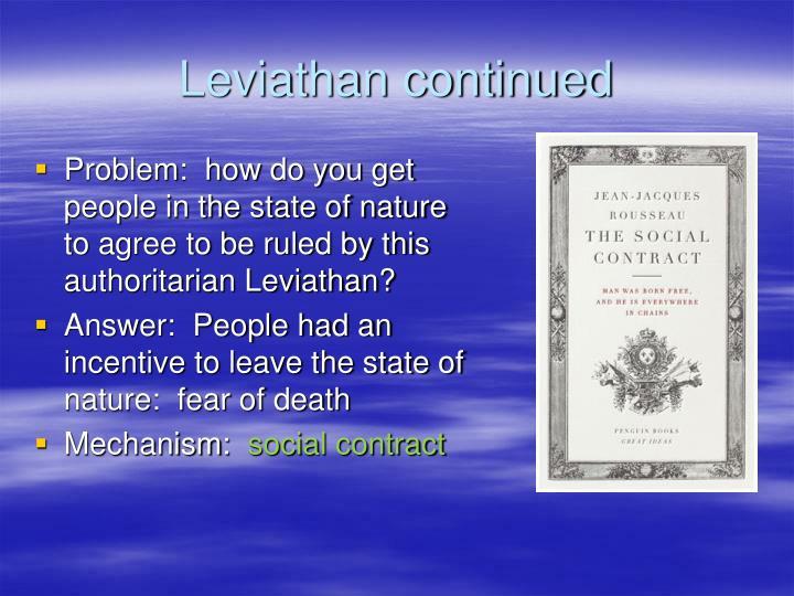 Leviathan continued