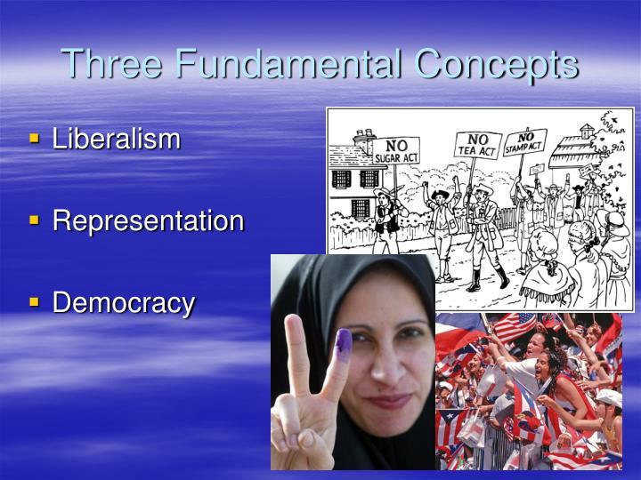 Three fundamental concepts