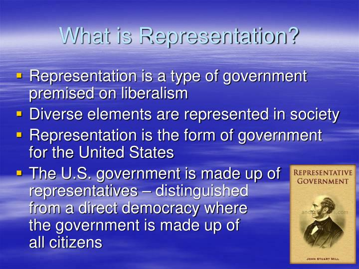 What is Representation?