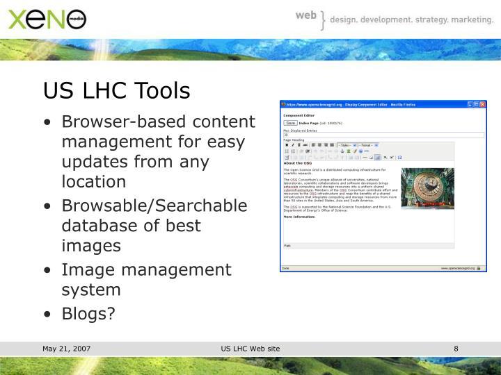 US LHC Tools