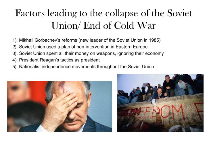 the events leading to the collapse of the soviet union