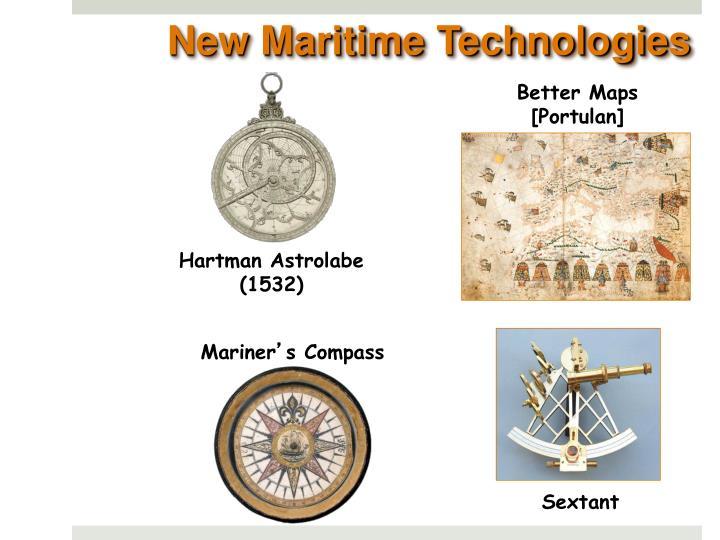 New Maritime Technologies