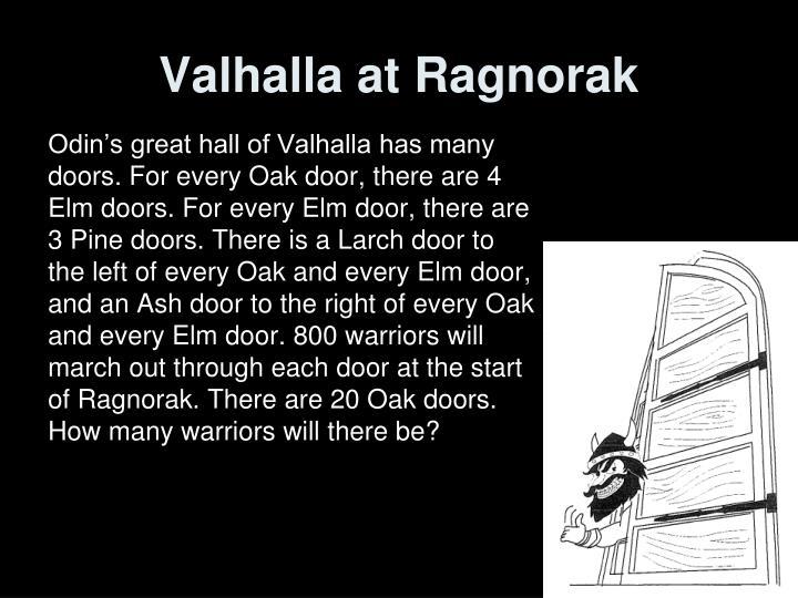 Valhalla at