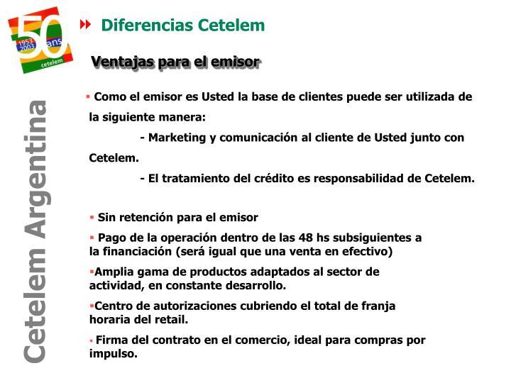 Diferencias Cetelem