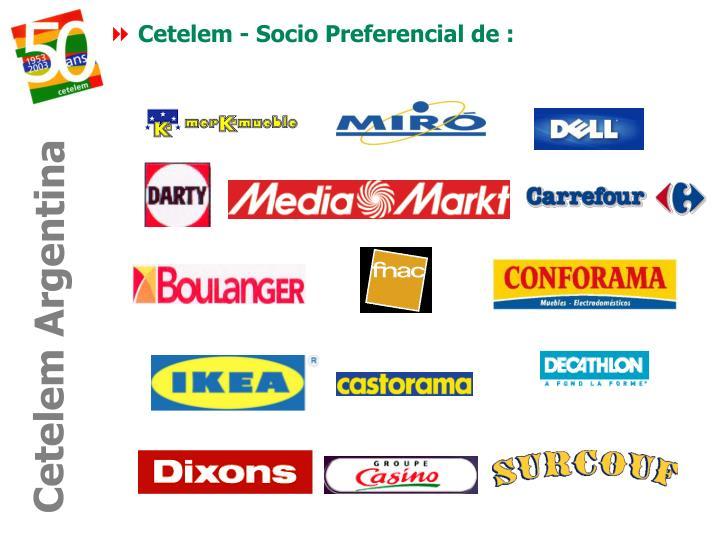 Cetelem - Socio Preferencial de :