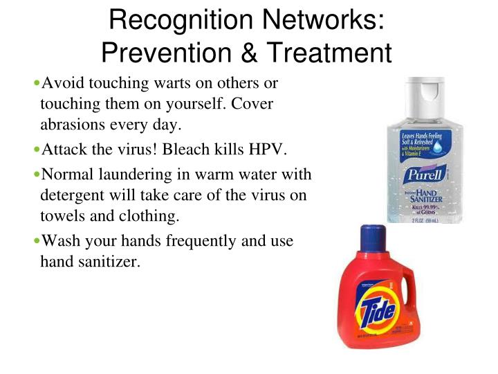 Recognition Networks: Prevention & Treatment