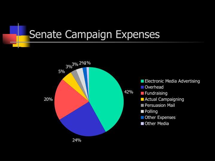 Senate Campaign Expenses