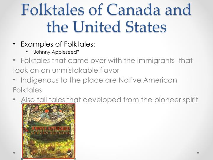 Folktales of Canada and the United States