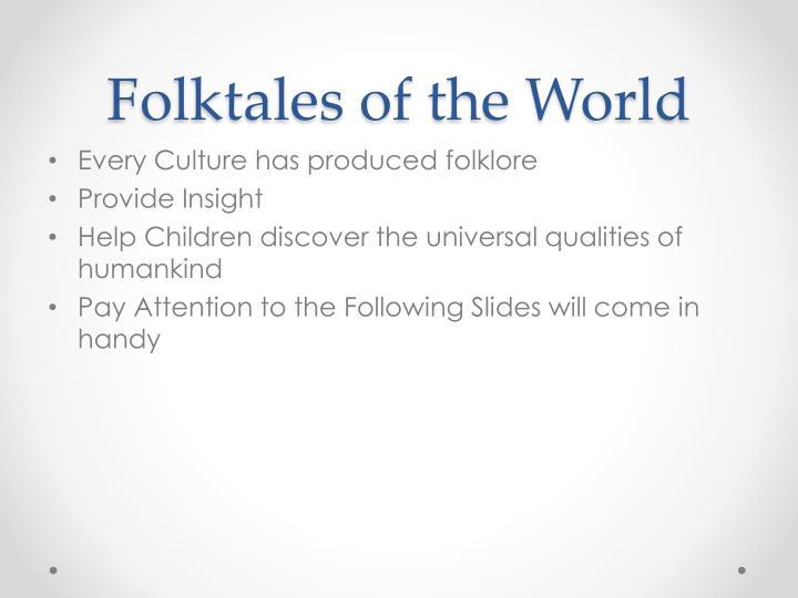 Folktales of the World