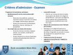 crit res d admission examen1