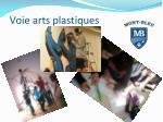 voie arts plastiques