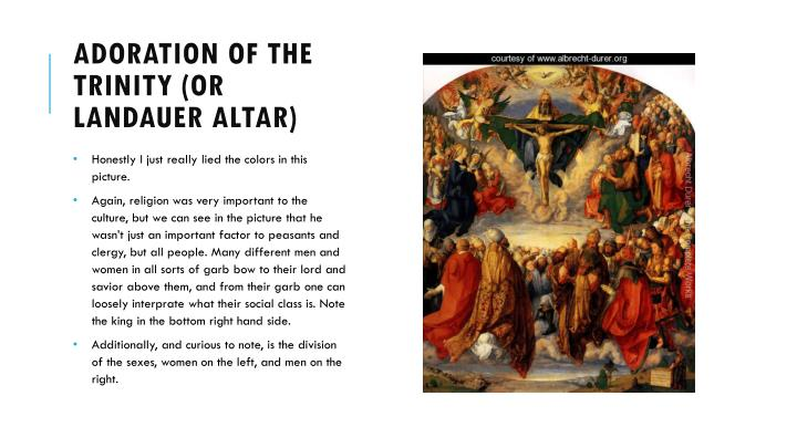 Adoration of the Trinity (or