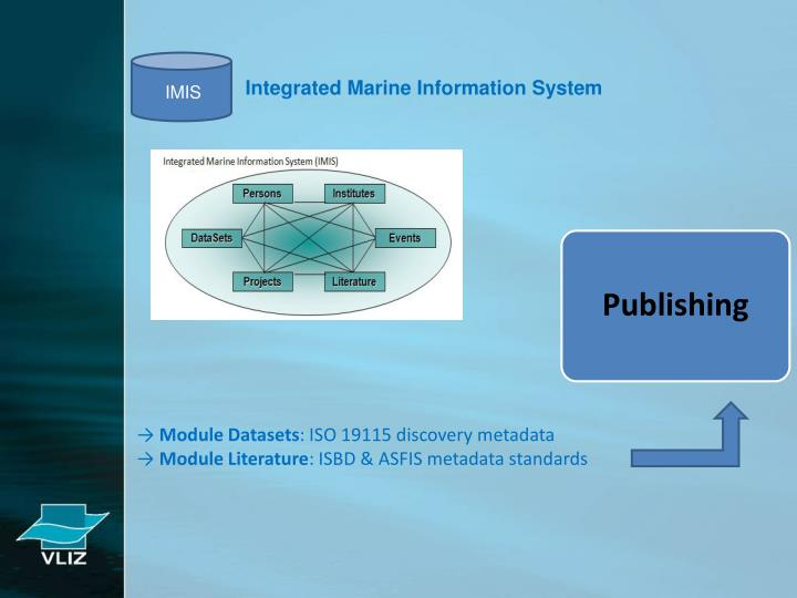 Integrated Marine Information System