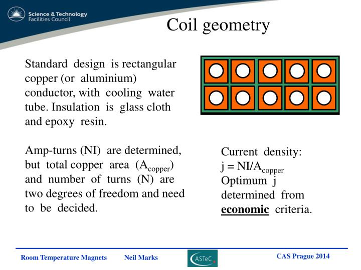 Coil geometry