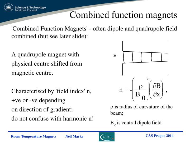 Combined function magnets
