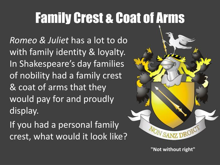 PPT - Family Crest & Coat of Arms PowerPoint Presentation ...