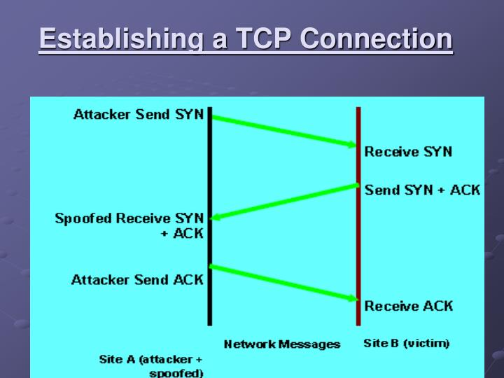Establishing a TCP Connection