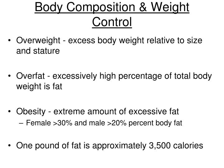 a body composition and the risks associated with excess body fat Section 6: body composition • excess body fat is associated with: predictor of the health risks.