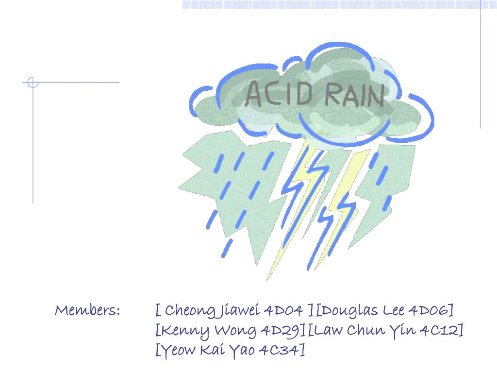 ppt - definition of acid rain powerpoint presentation - id:5363069