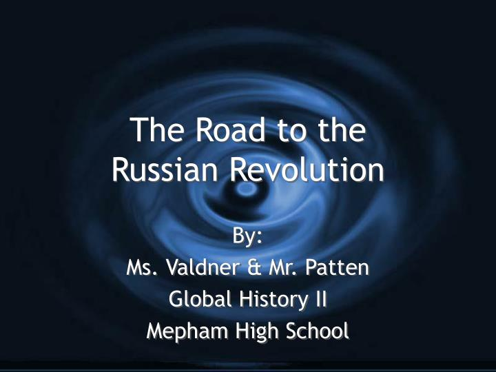 the road to the russian revolution n.