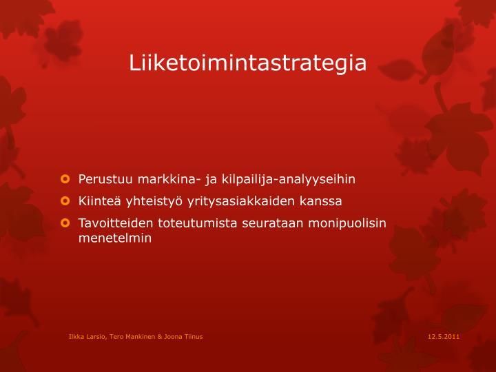 Liiketoimintastrategia