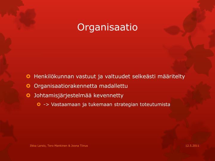 Organisaatio