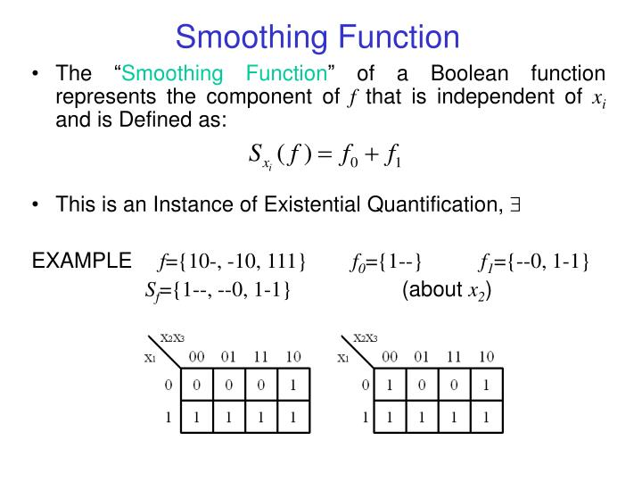 Smoothing Function