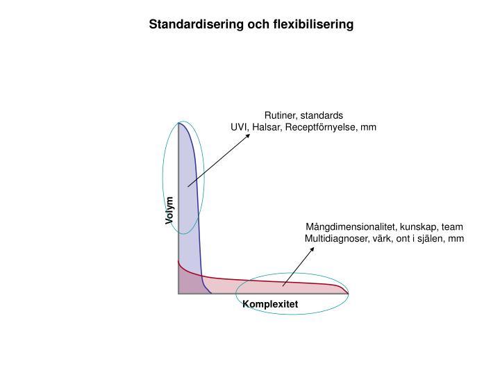 Standardisering och flexibilisering