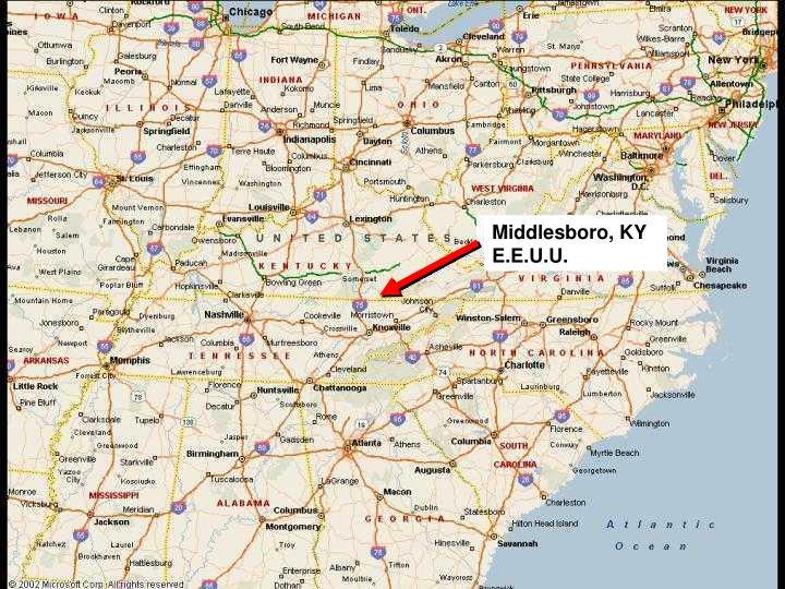 Middlesboro, KY