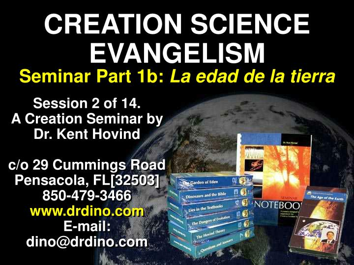 CREATION SCIENCE EVANGELISM