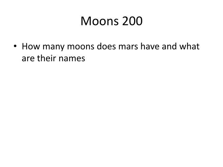 Moons 200